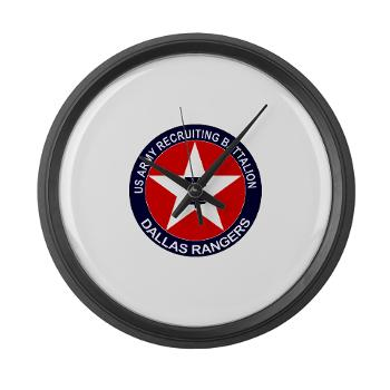 DRB - M01 - 04 - DUI - Dallas Recruiting Battalion - Large Wall Clock
