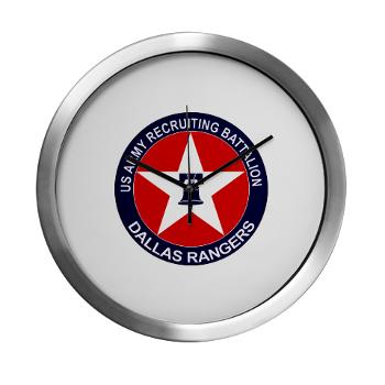 DRB - M01 - 04 - DUI - Dallas Recruiting Battalion - Modern Wall Clock