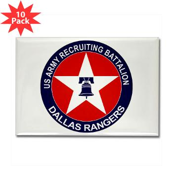 DRB - M01 - 01 - DUI - Dallas Recruiting Battalion - Rectangle Magnet (10 pack)