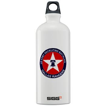 DRB - M01 - 04 - DUI - Dallas Recruiting Battalion - Sigg Water Bottle 1.0L