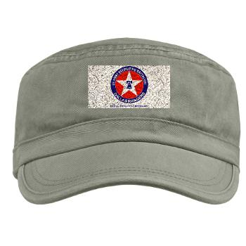 DRB - A01 - 01 - DUI - Dallas Recruiting Battalion with Text - Military Cap