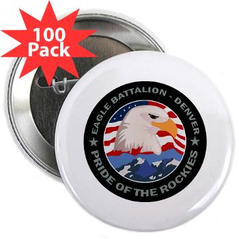 "DRBN - M01 - 01 - DUI - Denver Recruiting Battalion - 2.25"" Button (100 pack)"