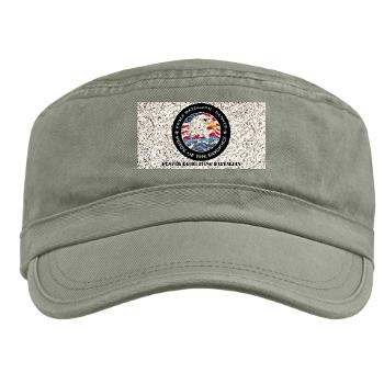 DRBN - A01 - 01 - DUI - Denver Recruiting Battalion with Text - Military Cap