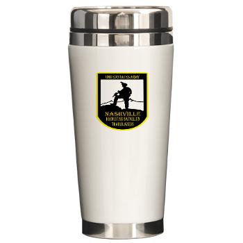 NRB - M01 - 04 - DUI - Nashville Recruiting Battalion - Ceramic Travel Mug