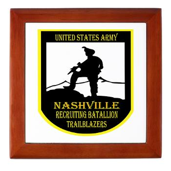NRB - M01 - 04 - DUI - Nashville Recruiting Battalion - Keepsake Box