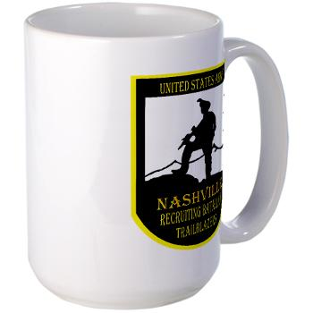 NRB - M01 - 04 - DUI - Nashville Recruiting Battalion - Large Mug