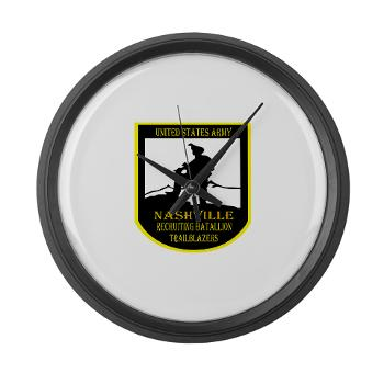 NRB - M01 - 04 - DUI - Nashville Recruiting Battalion - Large Wall Clock