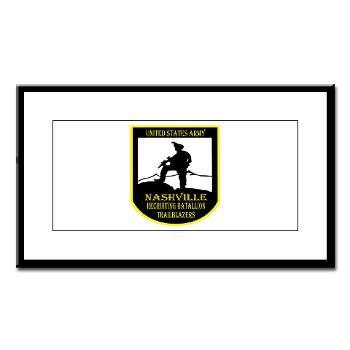 NRB - M01 - 02 - DUI - Nashville Recruiting Battalion - Small Framed Print