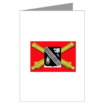 2B305FAR - M01 - 02 - DUI - 2nd Bn 305 Regt FA-177TH Armored Brigade - Greeting Cards (Pk of 10)