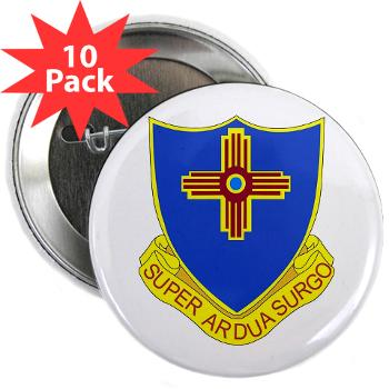 "3B410ER - M01 - 01 - DUI - 3rd Bn - 410TH Engineer Regt 2.25"" Button (10 pack)"