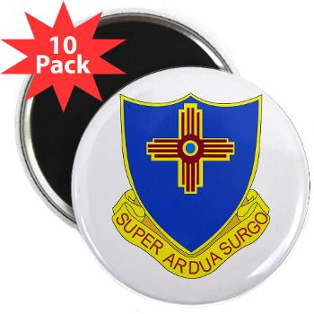 "3B410ER - M01 - 01 - DUI - 3rd Bn - 410TH Engineer Regt 2.25"" Magnet (10 pack)"