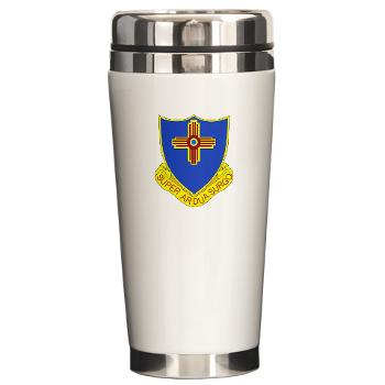 3B410ER - M01 - 03 - DUI - 3rd Bn - 410TH Engineer Regt Ceramic Travel Mug