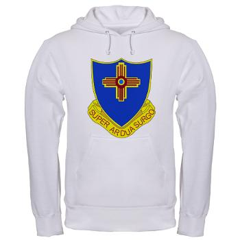 3B410ER - A01 - 03 - DUI - 3rd Bn - 410TH Engineer Regt Hooded Sweatshirt