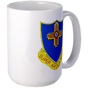 3B410ER - M01 - 03 - DUI - 3rd Bn - 410TH Engineer Regt Large Mug