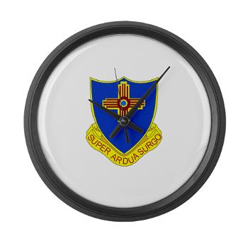 3B410ER - M01 - 03 - DUI - 3rd Bn - 410TH Engineer Regt Large Wall Clock