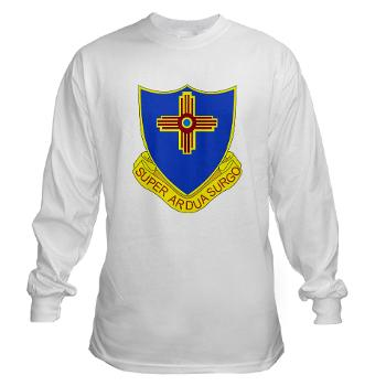 3B410ER - A01 - 03 - DUI - 3rd Bn - 410TH Engineer Regt Long Sleeve T-Shirt