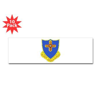 3B410ER - M01 - 01 - DUI - 3rd Bn - 410TH Engineer Regt Sticker (Bumper 10 pk)