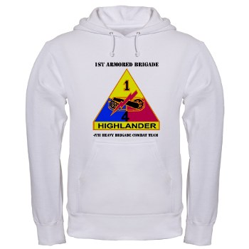 4HCTB - A01 - 03 - DUI - 4th Heavy BCT with Text Hooded Sweatshirt