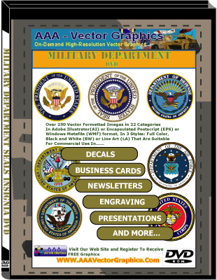 Military Department Seals Insignia DVD