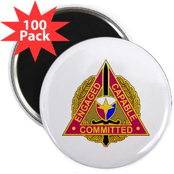 "ECC - M01 - 01 - DUI - Expeditionary Contracting Command - 2.25"" Magnet (100 pack)"