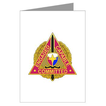 ECC - M01 - 02 - DUI - Expeditionary Contracting Command - Greeting Cards (Pk of 20)