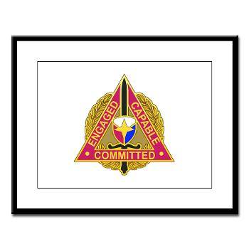 ECC - M01 - 02 - DUI - Expeditionary Contracting Command - Large Framed Print