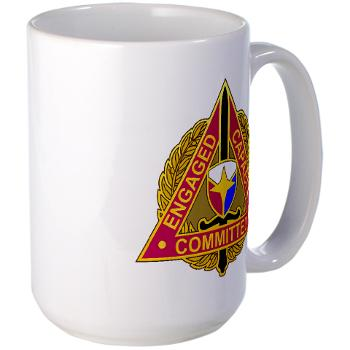 ECC - M01 - 03 - DUI - Expeditionary Contracting Command - Large Mug