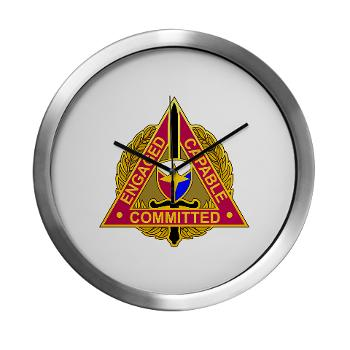 ECC - M01 - 03 - DUI - Expeditionary Contracting Command - Modern Wall Clock