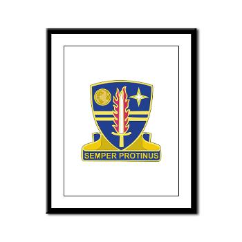 ECC409CSB - M01 - 02 - DUI - 409th Contracting Support Brigade - Framed Panel Print