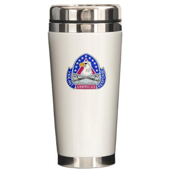 ECC410SB - M01 - 03 - DUI - 410th Contracting Support Bde - Ceramic Travel Mug