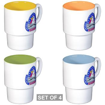 ECC410SB - M01 - 03 - DUI - 410th Contracting Support Bde - Stackable Mug Set (4 mugs)