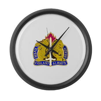 21CSH - M01 - 03 - DUI - 411th Combat Support Brigade - Large Wall Clock