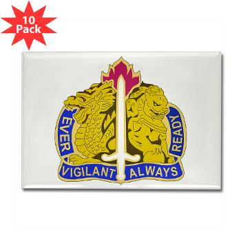 21CSH - M01 - 01 - DUI - 411th Contracting Support Brigade - Rectangle Magnet (10 pack)