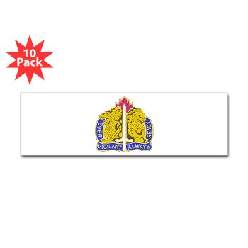 21CSH - M01 - 01 - DUI - 411th Contracting Support Brigade - Sticker (Bumper 10 pk)