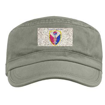 ECC411SB - A01 - 01 - SSI - 411th Support Bde with text - Military Cap