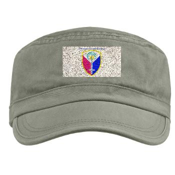 ECC413CSB - A01 - 01 - SSI - 413th Support Brigade with text - Military Cap