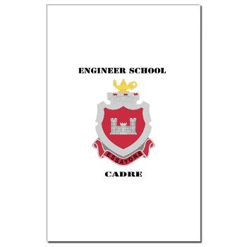 ESC - M01 - 02 - DUI - Engineer School Cadre with Text Mini Poster Print