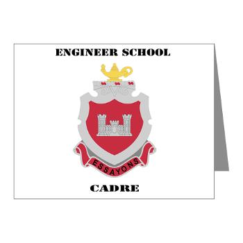 ESC - M01 - 02 - DUI - Engineer School Cadre with Text Note Cards (Pk of 20)