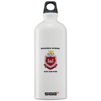 ESS - M01 - 03 - DUI - Engineer School Students with Text Sigg Water Bottle 1.0L