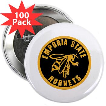 "ESU - M01 - 01 - SSI - ROTC - Emporia State University - 2.25"" Button (100 pack)"
