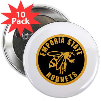 "ESU - M01 - 01 - SSI - ROTC - Emporia State University - 2.25"" Button (10 pack)"