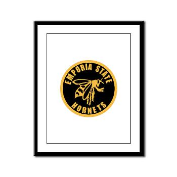 ESU - M01 - 02 - SSI - ROTC - Emporia State University - Framed Panel Print