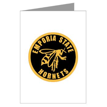 ESU - M01 - 02 - SSI - ROTC - Emporia State University - Greeting Cards (Pk of 10)