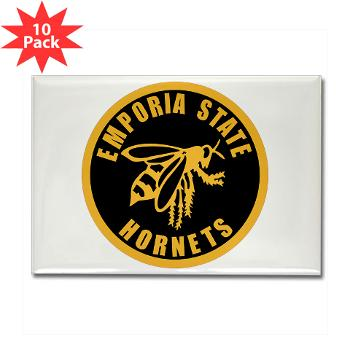 ESU - M01 - 01 - SSI - ROTC - Emporia State University - Rectangle Magnet (10 pack)