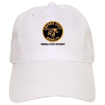 ESU - A01 - 01 - SSI - ROTC - Emporia State University with Text - Cap