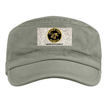 ESU - A01 - 01 - SSI - ROTC - Emporia State University with Text - Military Cap