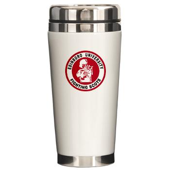 EUP - M01 - 03 - SSI - ROTC - Edinboro University of Pennsylvania - Ceramic Travel Mug