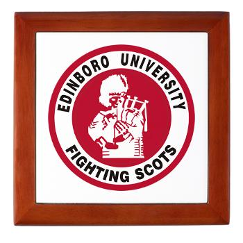 EUP - M01 - 03 - SSI - ROTC - Edinboro University of Pennsylvania - Keepsake Box