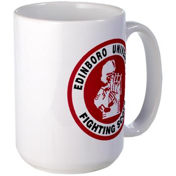EUP - M01 - 03 - SSI - ROTC - Edinboro University of Pennsylvania - Large Mug