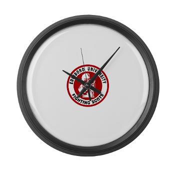 EUP - M01 - 03 - SSI - ROTC - Edinboro University of Pennsylvania - Large Wall Clock